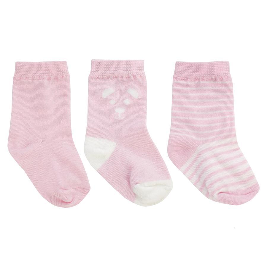 JACKY Baby sokken 3 pakje roze