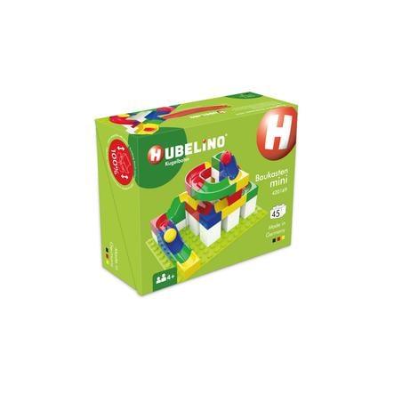 HUBELINO® Circuit à billes Mini, briques, 45 pièces
