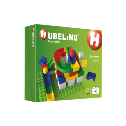 HUBELINO® Kugelbahn Baukasten Mini  45 Teile