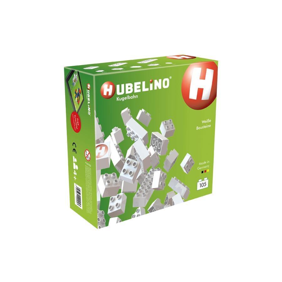 HUBELINO Kuličková dráha konstrukční kostky, sada 105 dílů