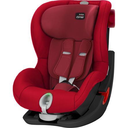 Britax Römer Kindersitz King II LS Black Series Flame Red