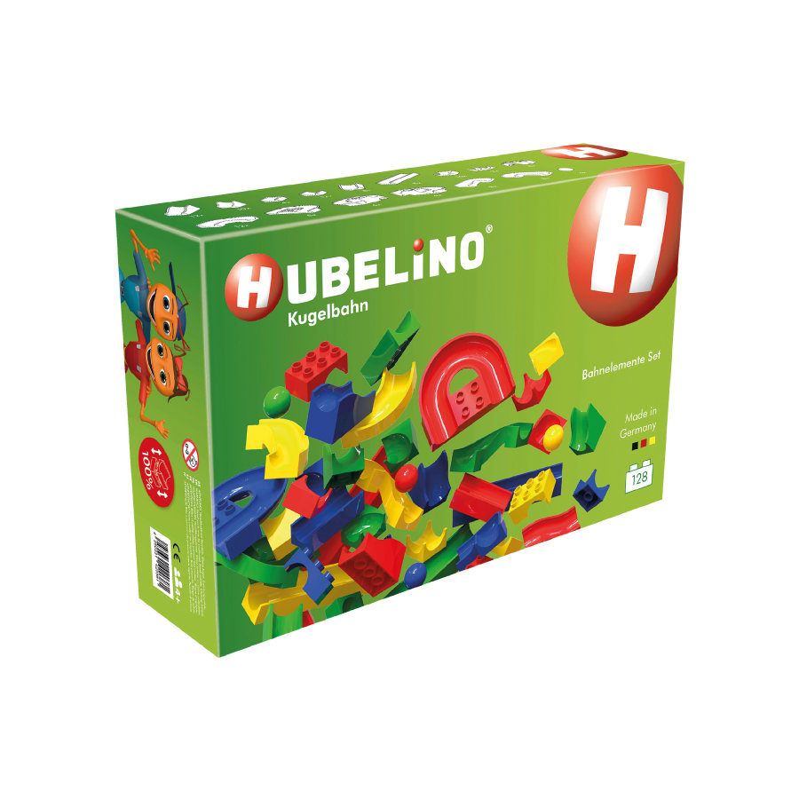 HUBELINO® Kuglebane - 128 dele banesæt