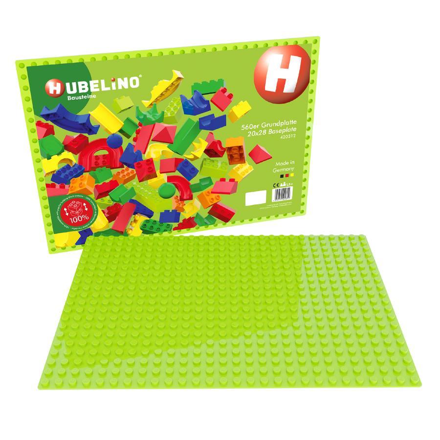 HUBELINO® Bouwstenen - Bodemplaat groen 20 x 28