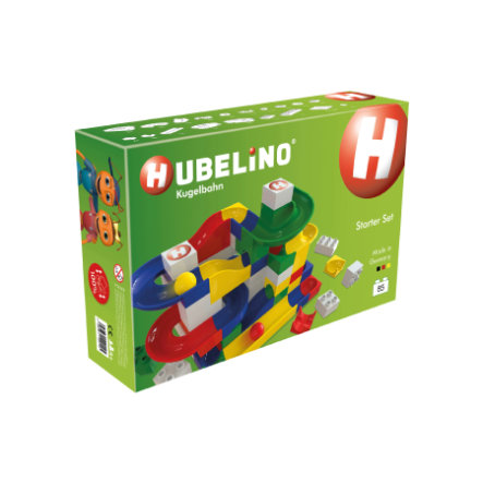 HUBELINO® Knikkerbaan Starterset, 85-delig