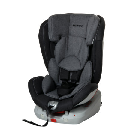 osann Kindersitz Safety Trio Grey melange