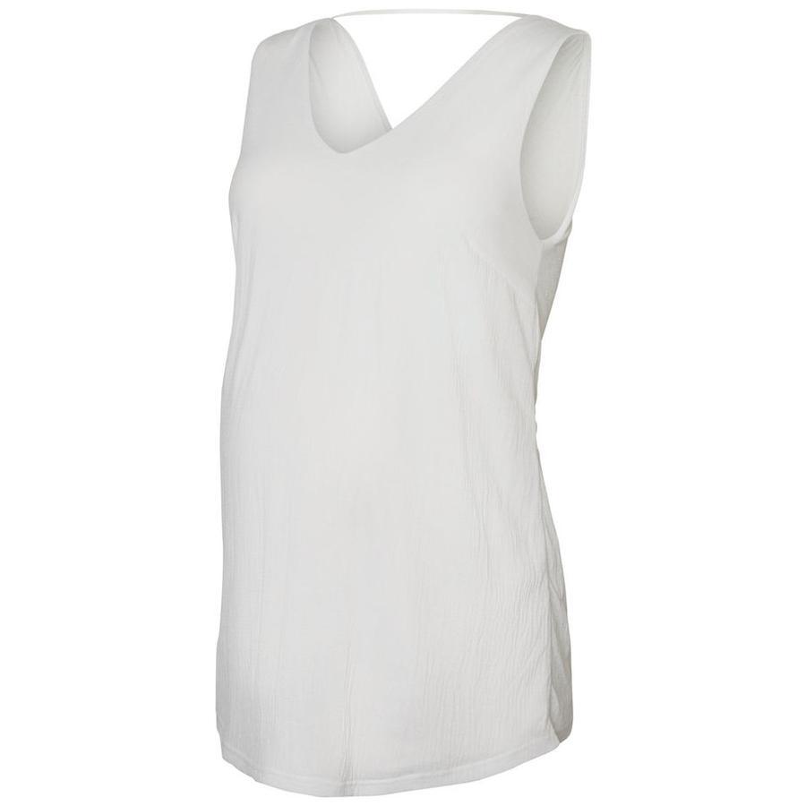 mama licious Koszulka dla kobiet w ciąży MLMICA Bright White