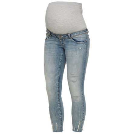 mama licious Jeans de maternité MLSIENNA Light Blue Denim