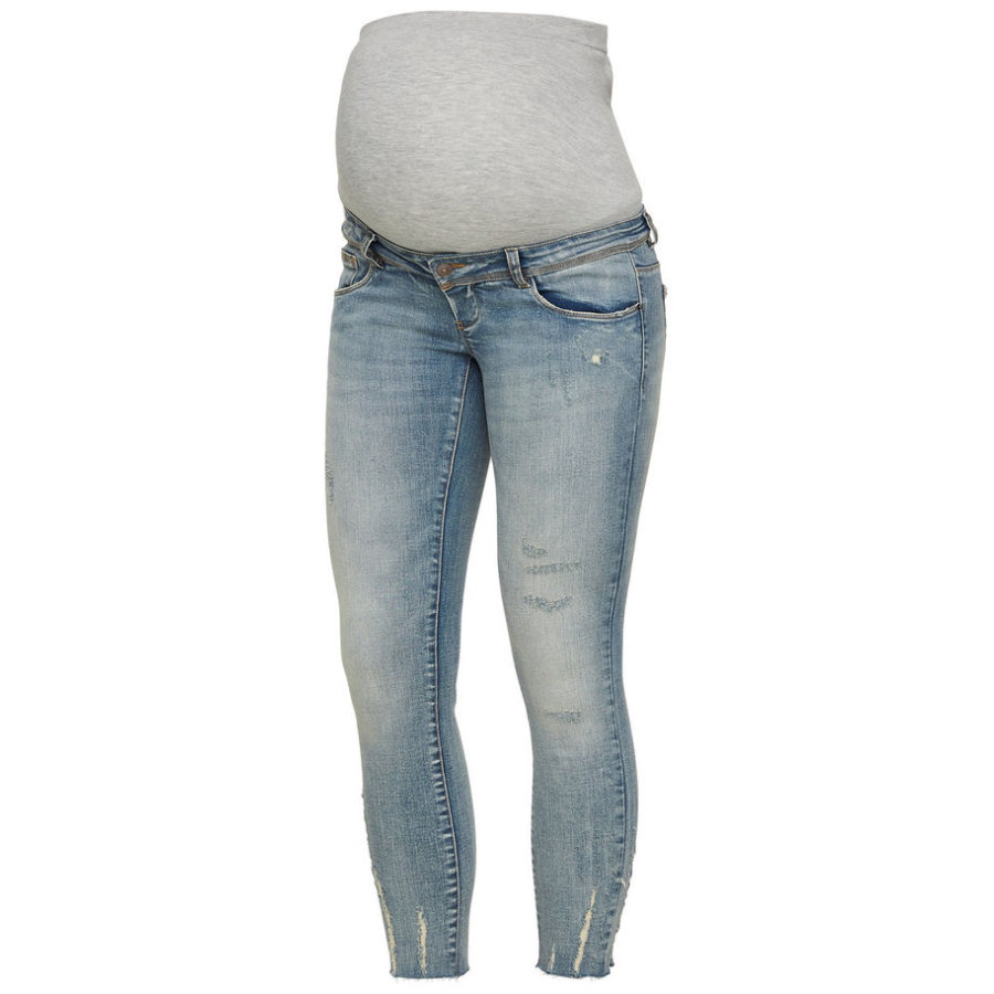 Mama Licious Jeans MLSIENNA Light Blue Denim