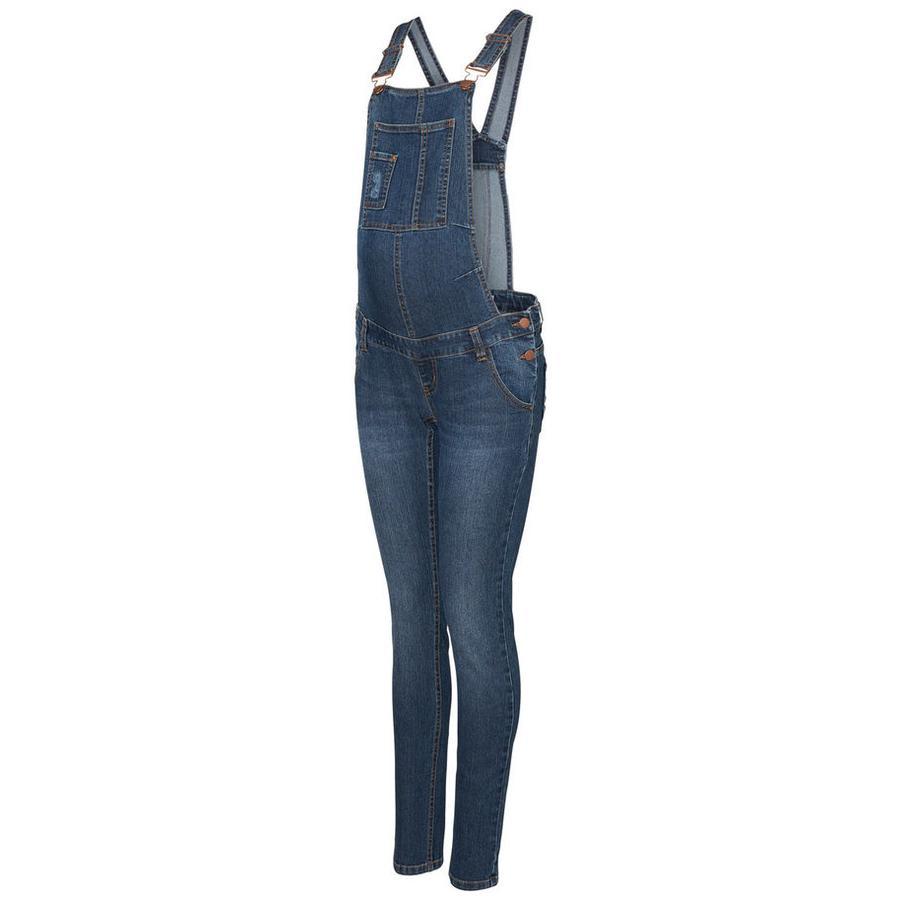 mama licious mateřské kalhoty MLRIGA Medium Blue Denim