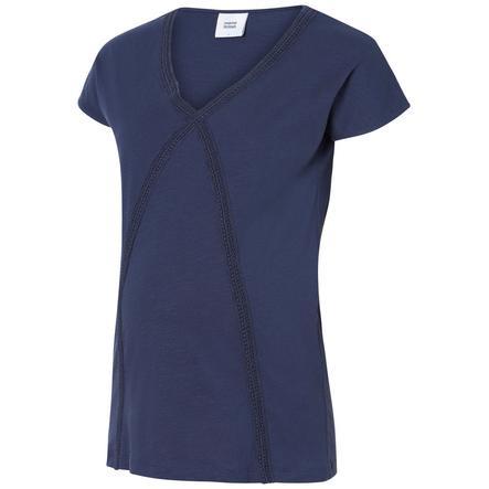 mama licious těhotenská košile MLALANYA Black Iris