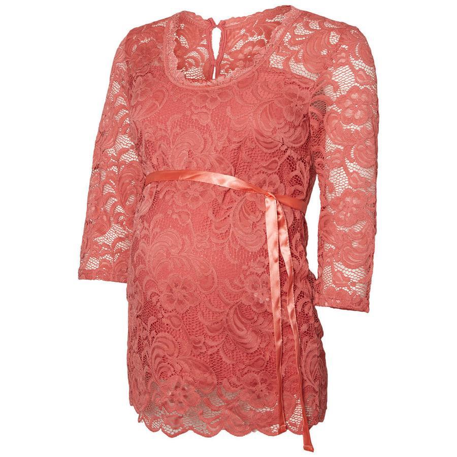 mama licious těhotenská košile MLMIVANA Slate Rose