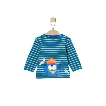 s.OLIVER Boys trikko blue stripes
