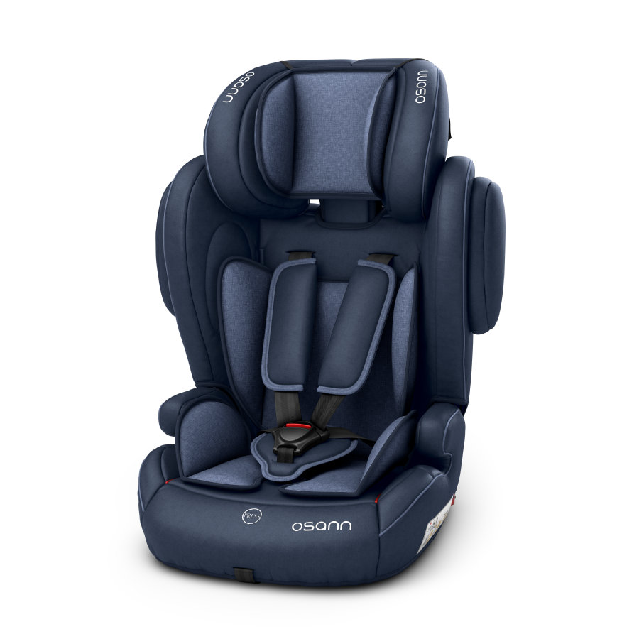 osann kindersitz flux isofix navy melange baby. Black Bedroom Furniture Sets. Home Design Ideas