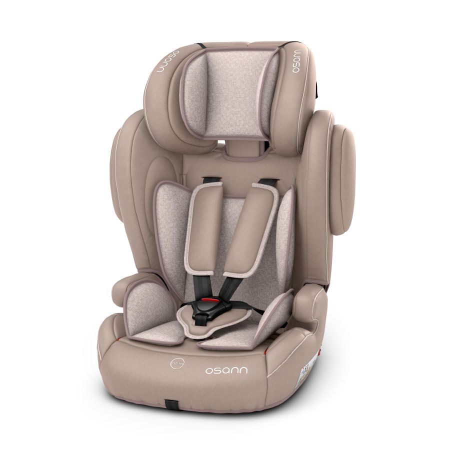 osann kindersitz flux isofix beige melange. Black Bedroom Furniture Sets. Home Design Ideas