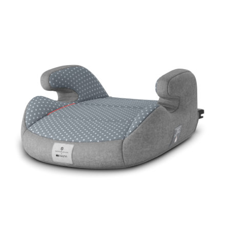 osann Kindersitz Junior Isofix bellybutton Steel grey