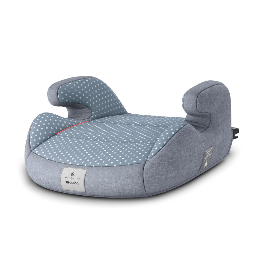 osann Beltepute Junior Isofix bellybutton Flint stone