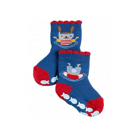 FALKE Socks Diving Bunny lapin bleu royal
