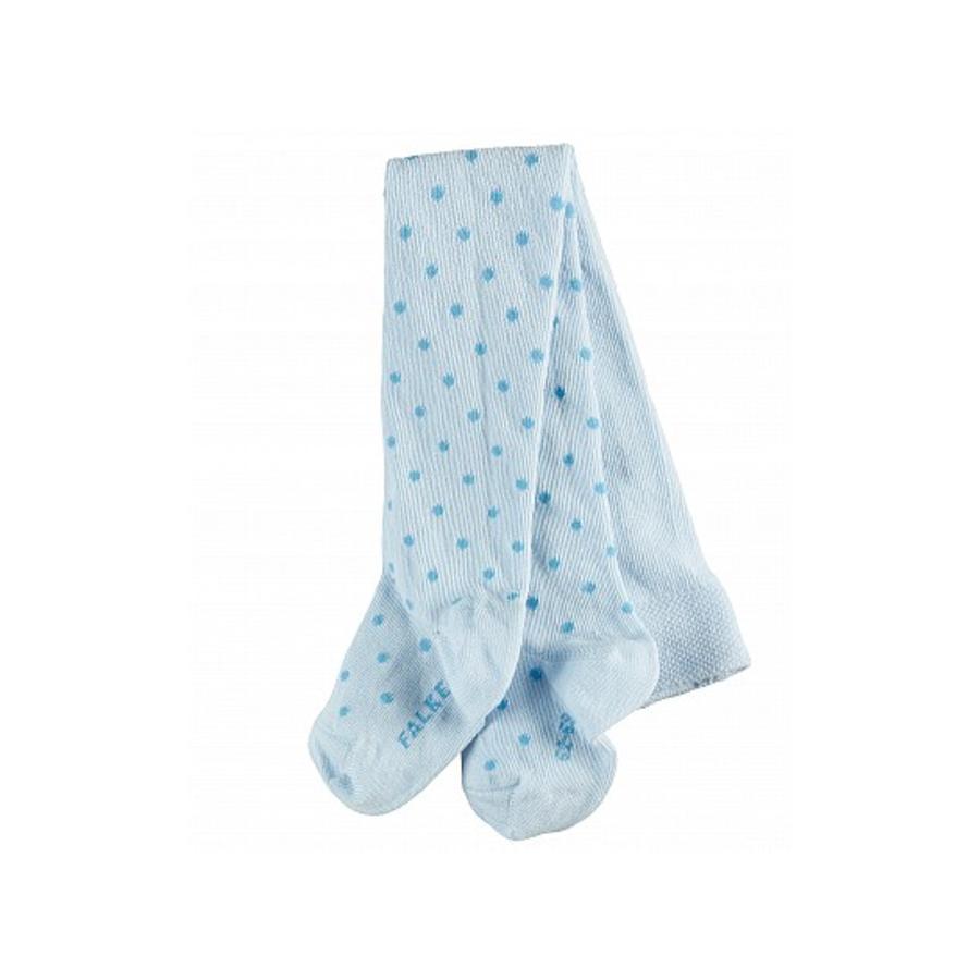 FALKE Collants Little Dot bleu poudre