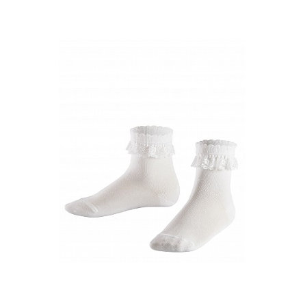 FALKE Socken Romantic Lace SO white