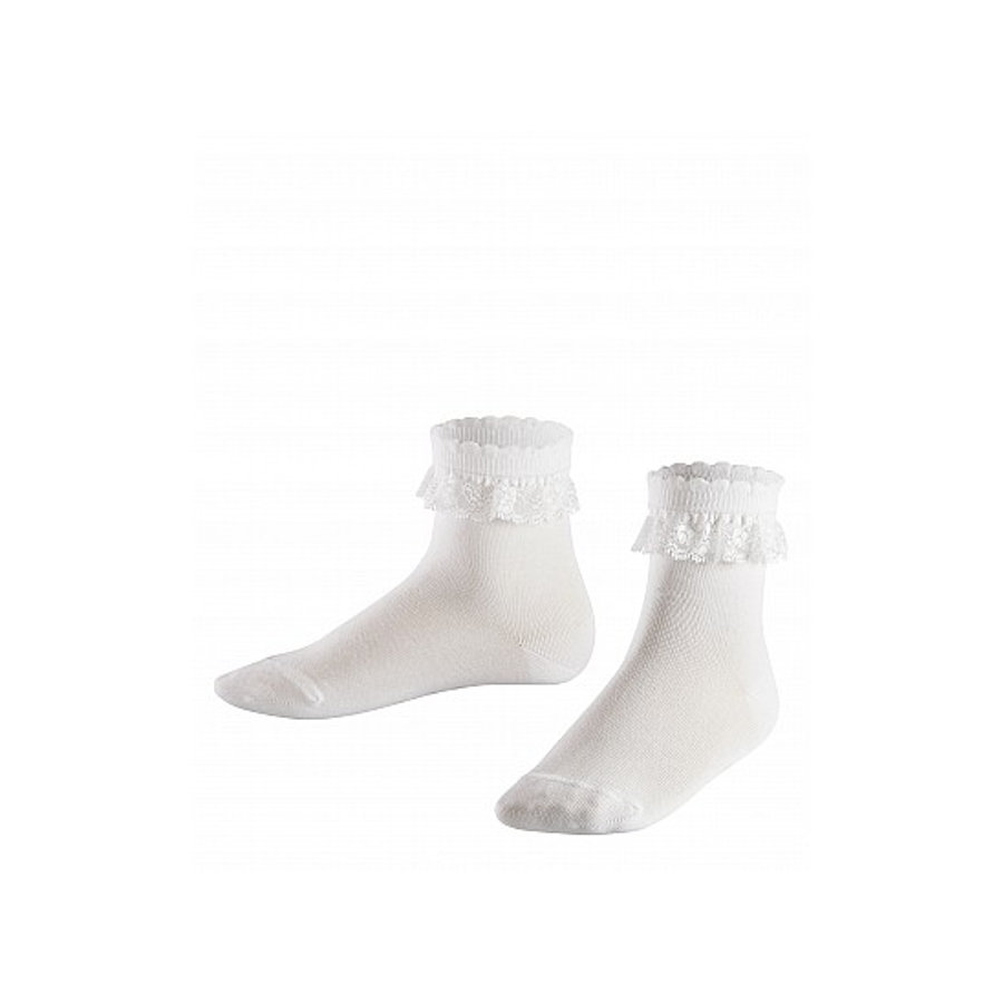 FALKE Socken Romantic Lace white