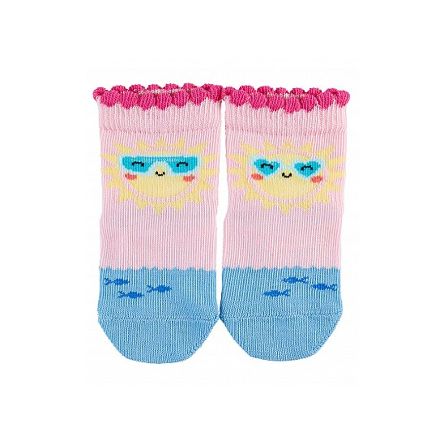 FALKE Socken Sunshine rose