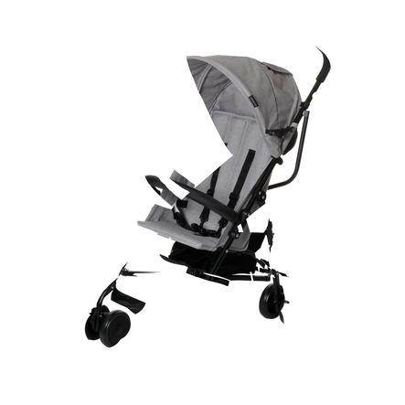 osann kinderwagen micra grau melange baby. Black Bedroom Furniture Sets. Home Design Ideas