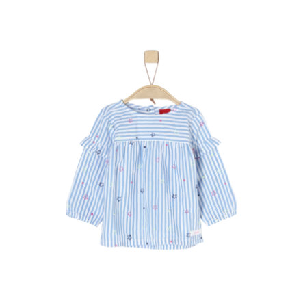 s.Oliver Girls Bluse oxfordblue