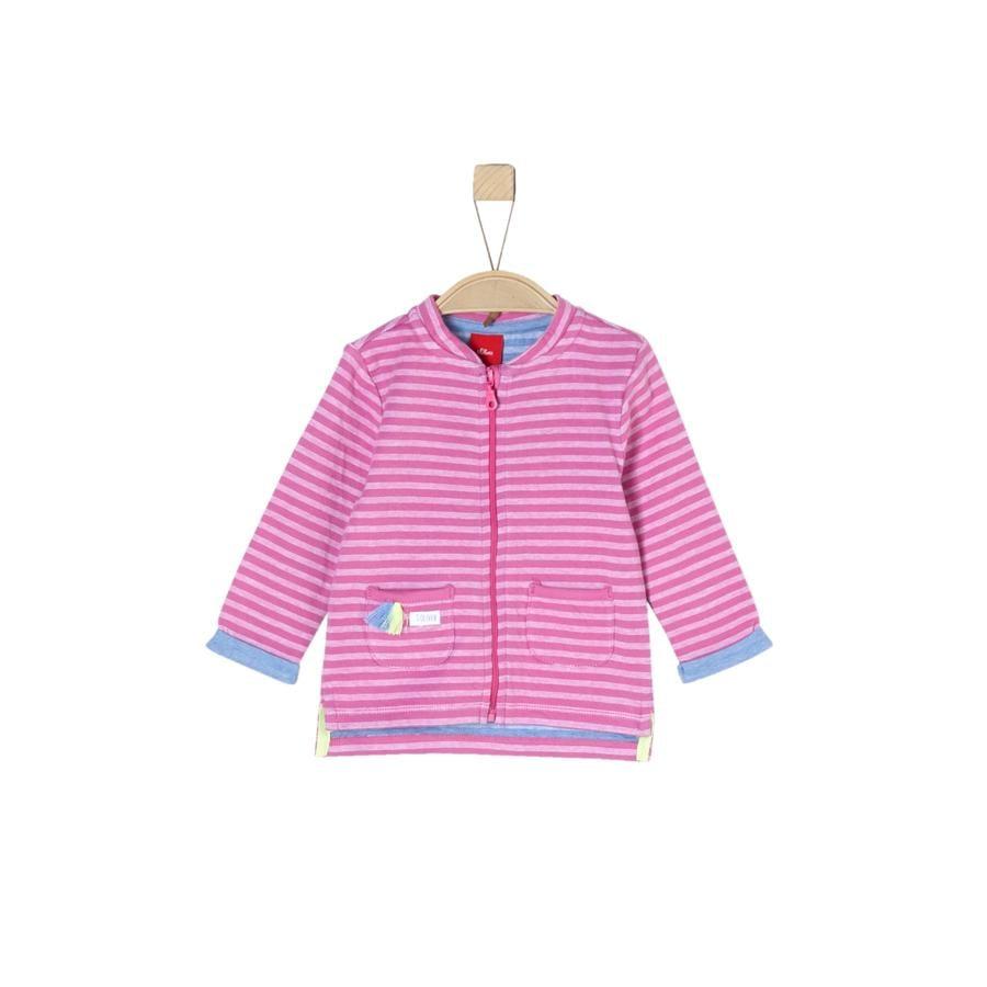 s.Oliver Tröja pink stripes