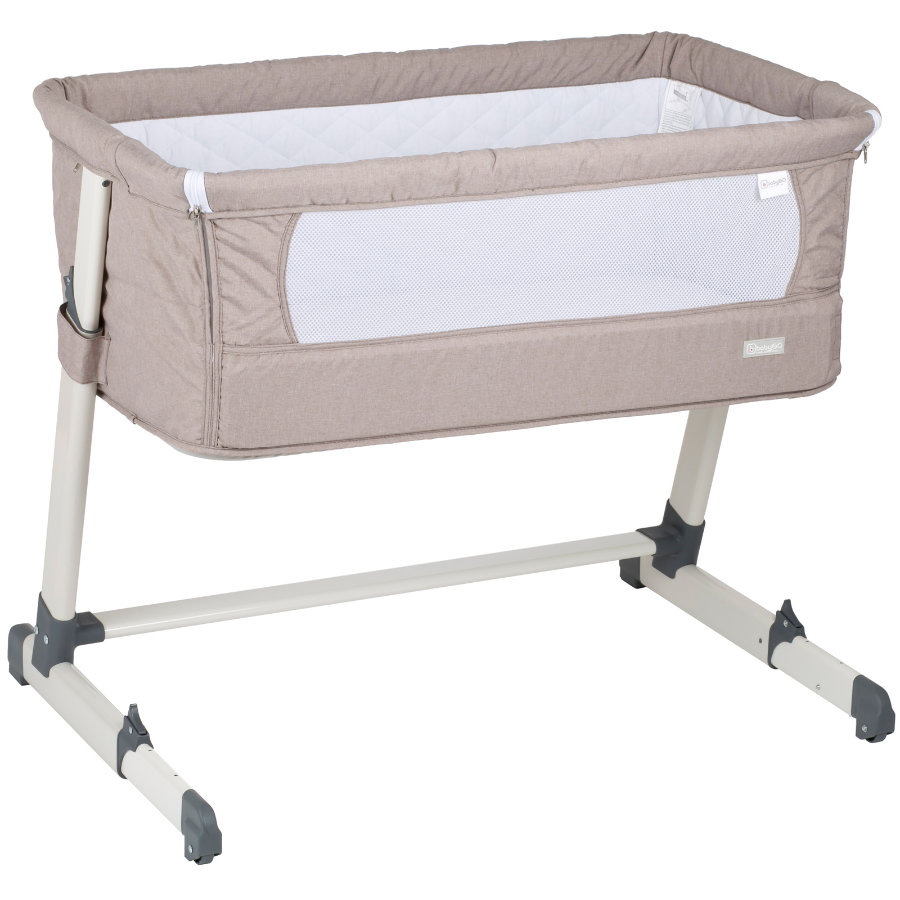 babyGO Lettino da viaggio Together beige