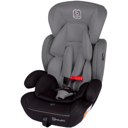 babyGO Silla de coche Protect gris