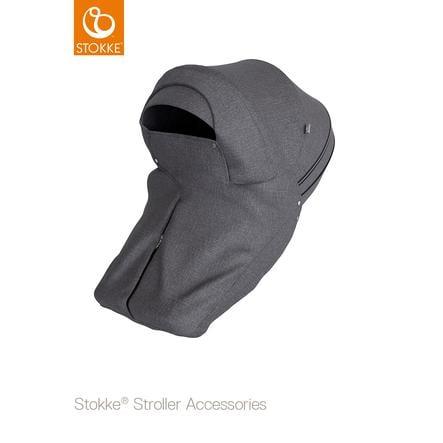 STOKKE® Windschutz für Xplory® und Trailz™ black melange