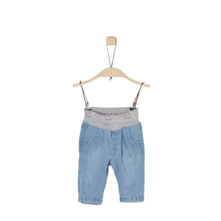 s. Olive r Girls Jeans modrá džínovina