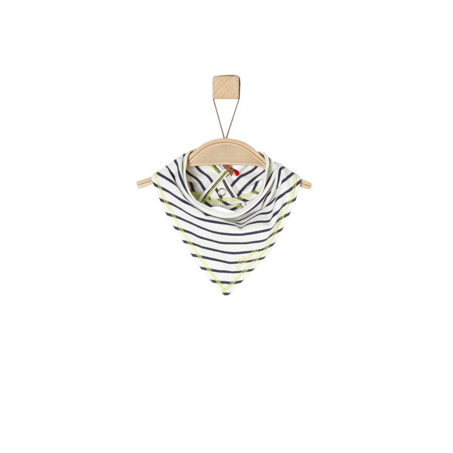 s.Oliver Boys Sciarpa triangolare a righe ecrù