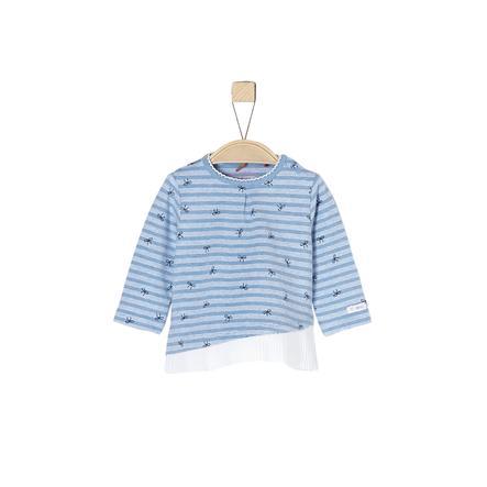 s.Oliver Girl s chemise à manches longues bleu clair