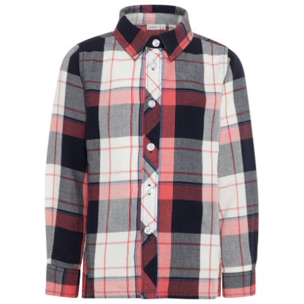 name it Boys Camisa Nmmerik spiced coral