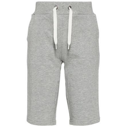 name it Boys Pantalone felpa Nmmvermond grigio melange