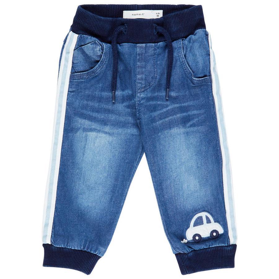 name it Boys Jeans Nbmbob średnio-niebieski denim.