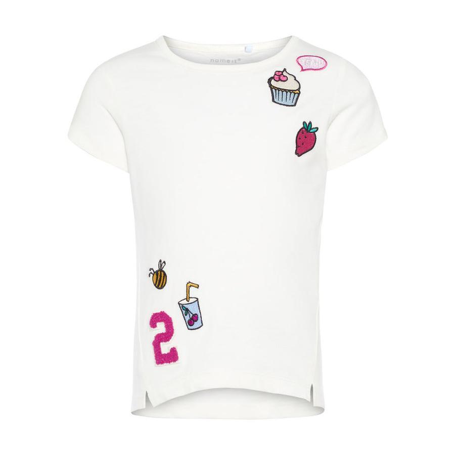name it Girls T-Shirt Nmferbalina snow white