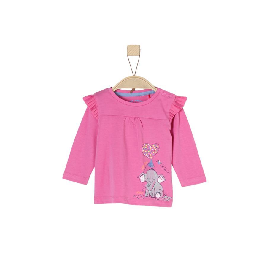 s.Oliver Långärmad tröja pink
