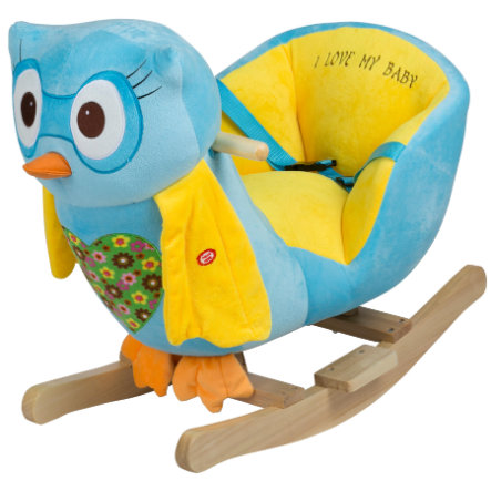babyGO - Gyngedyr Ugle - blå
