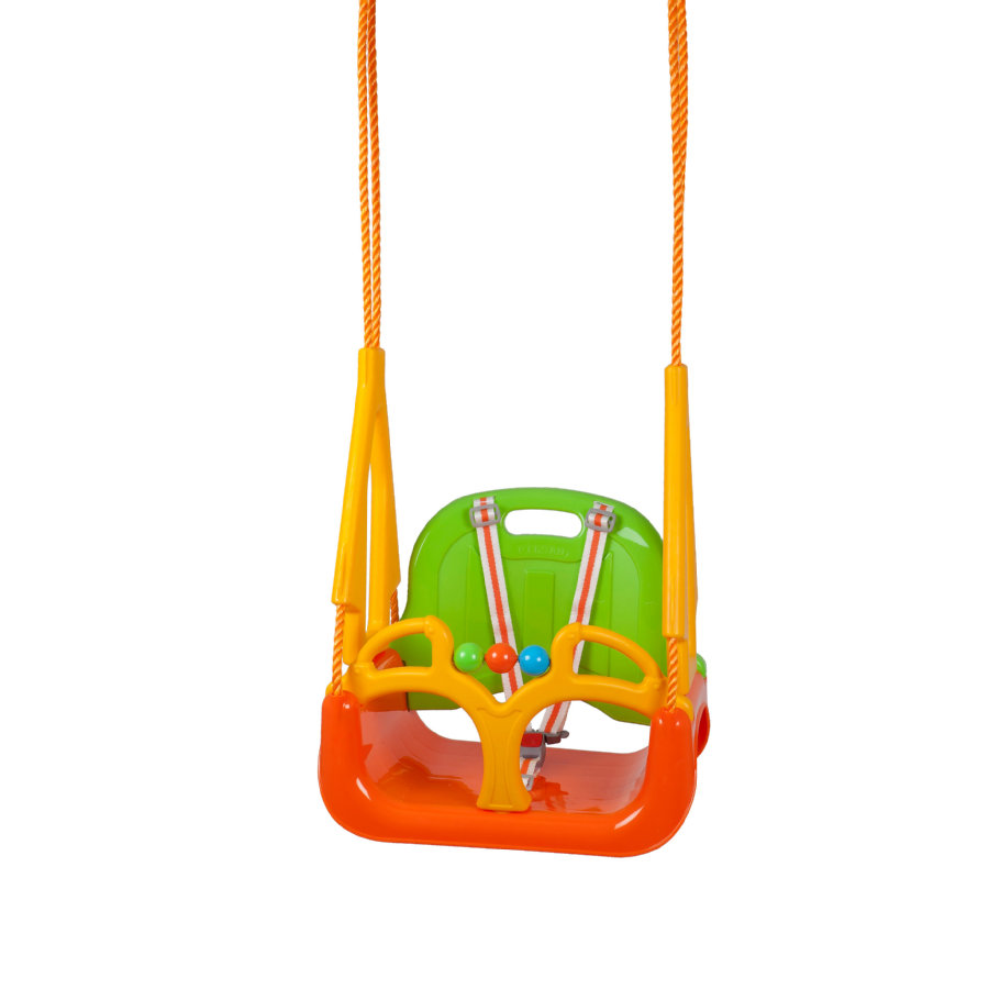 babyGO DoReMi babyschommel, groen-oranje