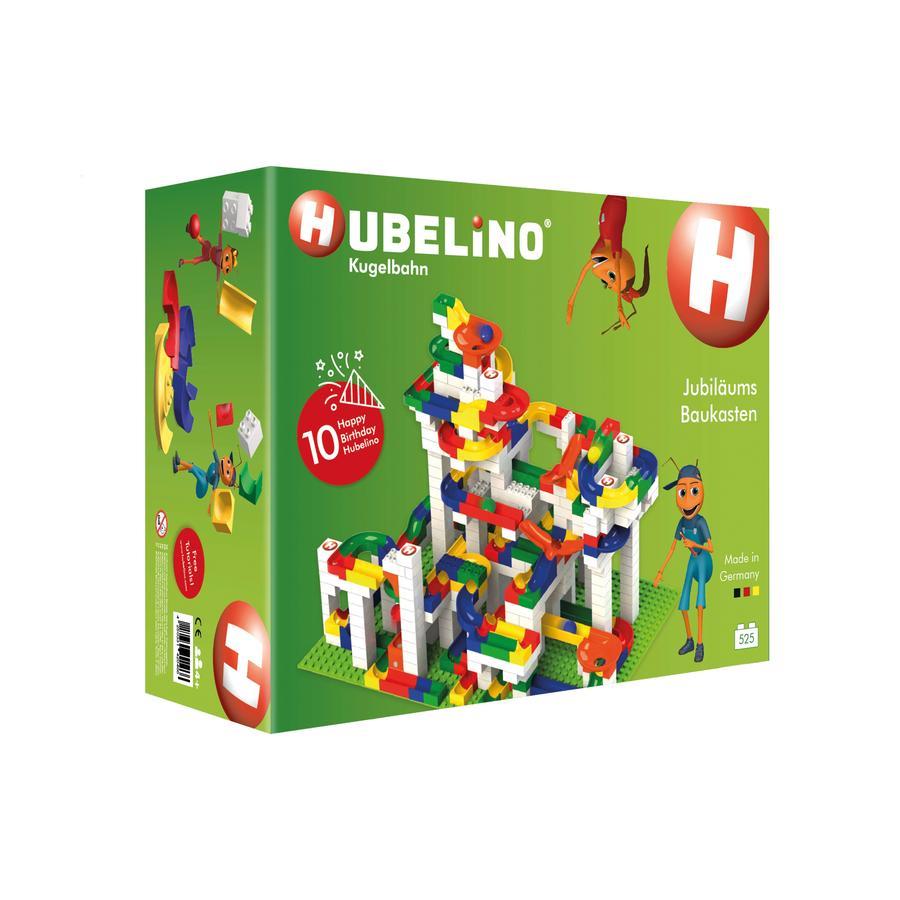 HUBELINO® Circuit à billes édition anniversaire, 525 pièces