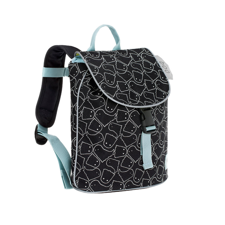 LÄSSIG 4Kids Mini Duffle Backpack Spooky black - rugzak
