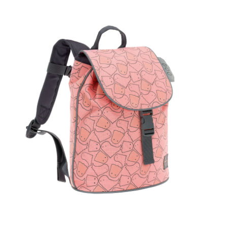 LÄSSIG 4Kids Mini Duffle Backpack Spooky peach - rugzak
