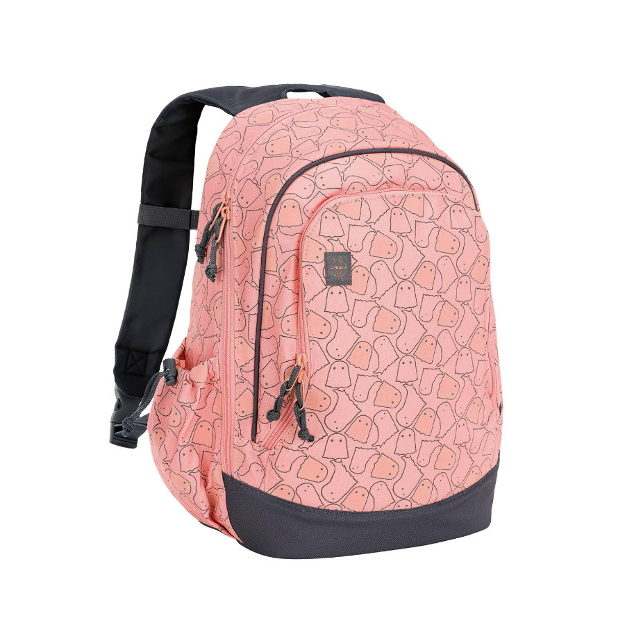 LÄSSIG 4Kids Big Backpack About Friends - Spooky peach - rugzak
