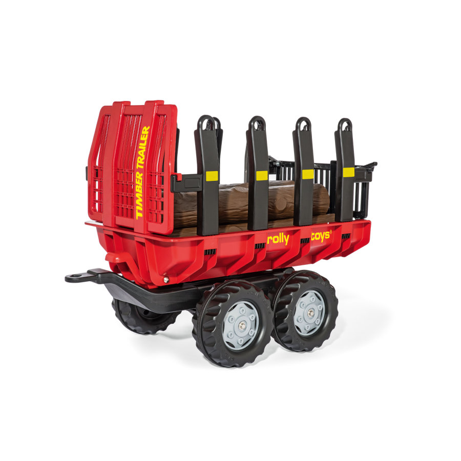 rolly®toys Aanhanger rollyTimber Trailer, rood 12 325 4