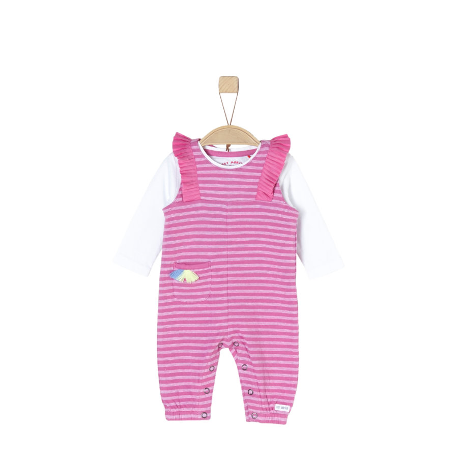 s.Oliver Overall pink stripes