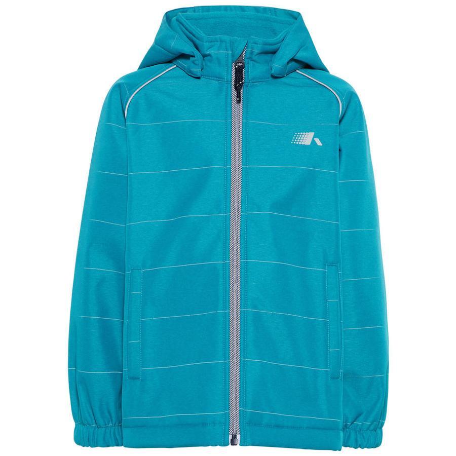 name it Boys Soft shell jacket Nmmalfa azul lago