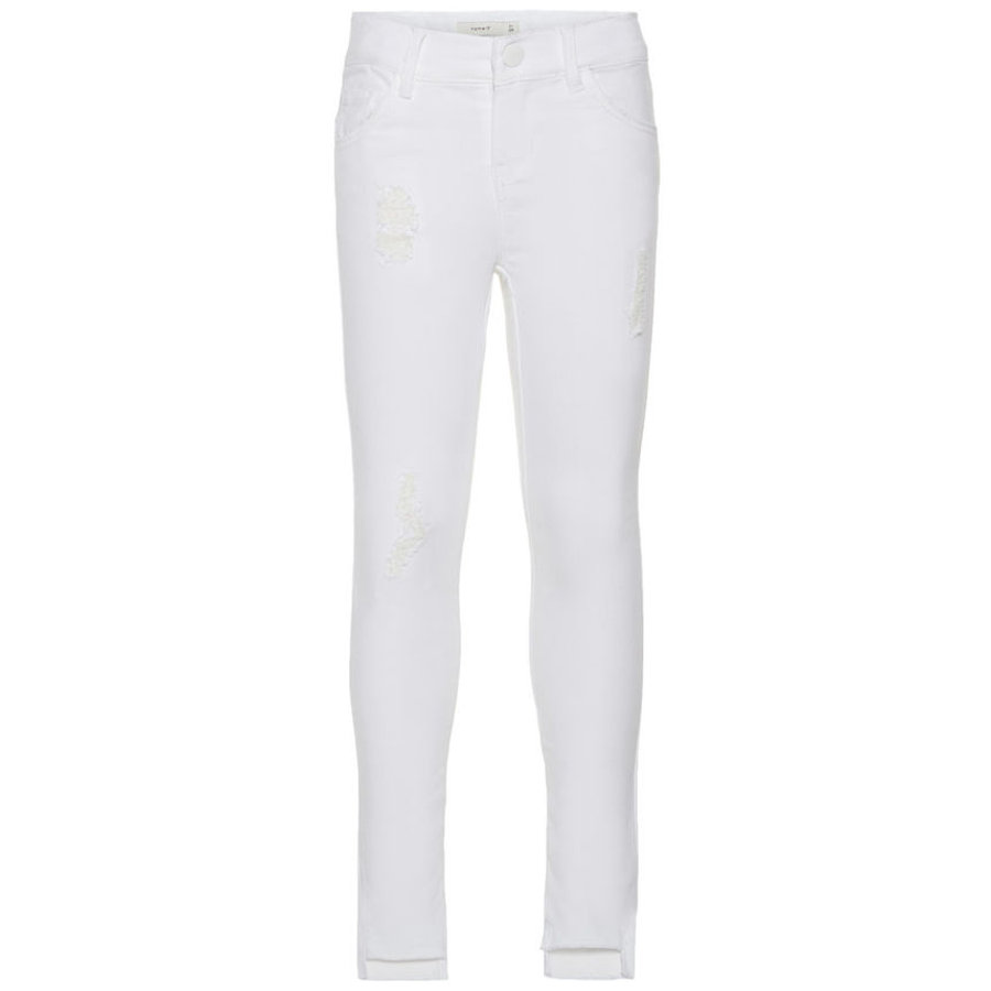 name it Girls Jeans Nkfpolly white denim