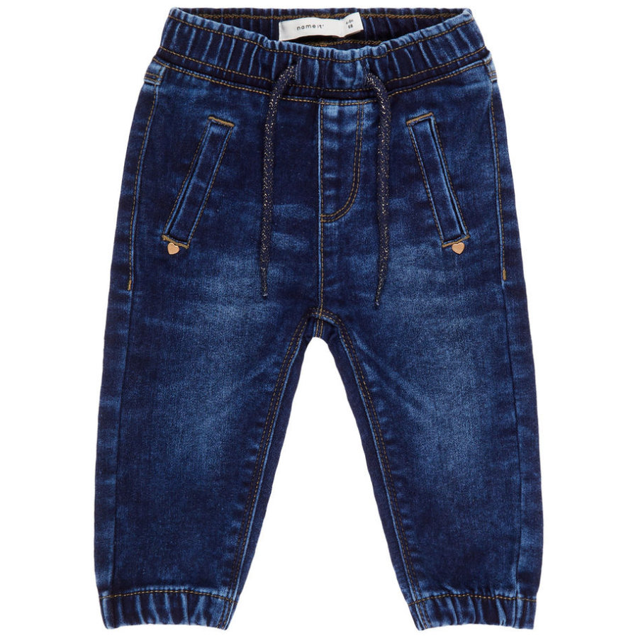 name it Girls Jeans Maddy dark blue denim